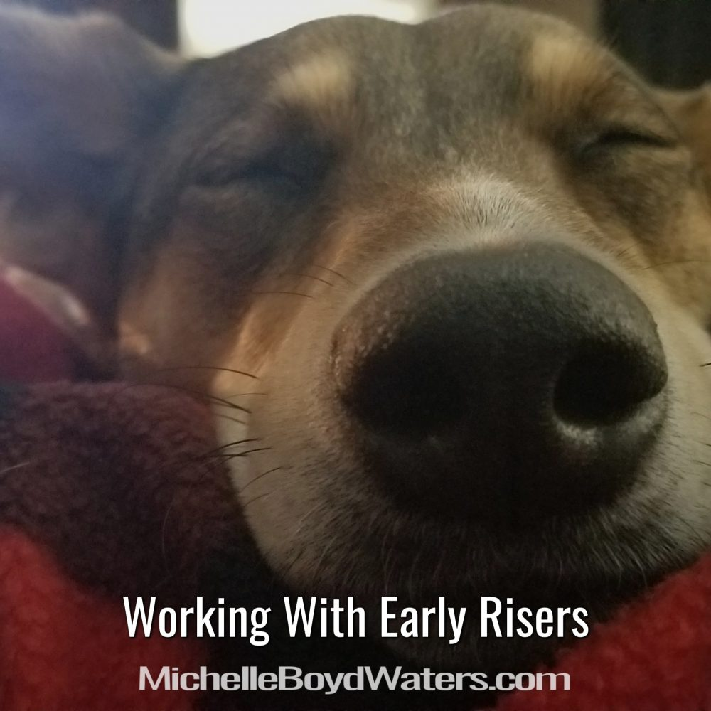 Working With Early Risers