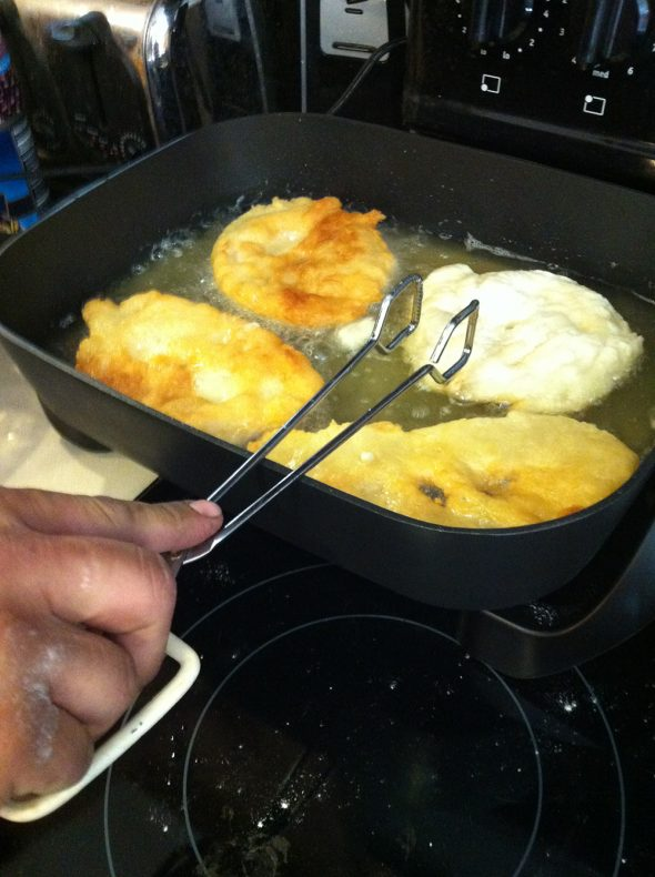 Frying the Frybread