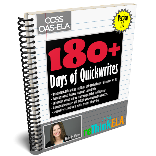 180 Days Quickwrites
