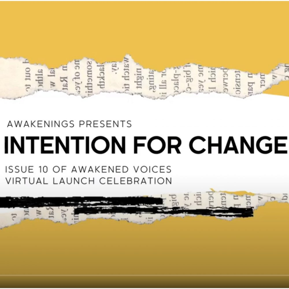 Poetry Reading: Intentions for Change Launch Event Video